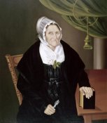 Unknown - Elderly Quaker Lady