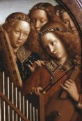 Jan Van Eyck - Singing Angels - Ghent Altarpiece