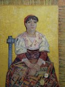 Vincent Van Gogh - An Italian Woman