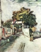 Vincent Van Gogh - Entrance to the Moulin De La Galette