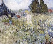 Vincent Van Gogh - Marguerite Gachet in the Garden at Auvers-Sur-Oise