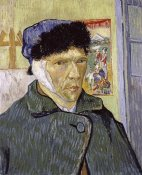Vincent Van Gogh - Self Portrait With Bandaged Ear