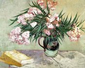 Vincent Van Gogh - Still Life: Vase with Oleanders and Books