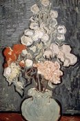 Vincent Van Gogh - Still Life: Vase With Rose-Mallows