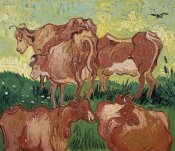 Vincent Van Gogh - The Cows