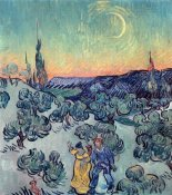 Vincent Van Gogh - The Stroll, Evening