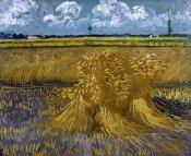 Vincent Van Gogh - Wheat Field with Sheaves