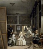 Diego Velazquez - The Family of Philip IV (Las Meninas)