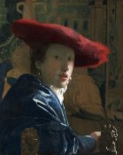 Johannes Vermeer - Girl with a Red Hat