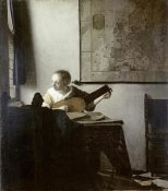 Johannes Vermeer - The Lute Player