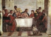 Paolo Veronese - Dinner In The House of Levi - Detail