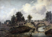 Frederick William Watts - Bridge Over The River Stour