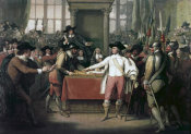 Benjamin West - Cromwell Dissolving The Long Parliament