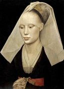 Rogier van der Weyden - Portrait of a Lady