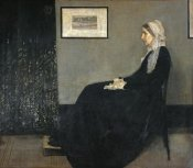 James McNeill Whistler - Portrait of The Artist's Mother (Arrangement In Gray and Black No.1)