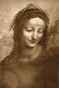 Leonardo Da Vinci - Portrait of St. Anne