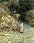 Helen Allingham - In the Primrose Wood