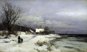 Anders Anderson-Lundby - Starnberger Sea Under Snow