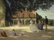 Frederic Bazille - Family Reunion on the Terrace
