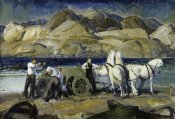 George Bellows - The Sand Team