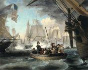 Thomas Birch - Commodore Perry Leaving the Lawrence for the Niagara