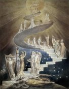 William Blake - Jacob's Ladder