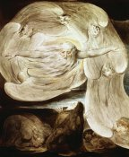 William Blake - Job and the Whirlwind