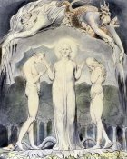 William Blake - The Judgment of Adam and Eve