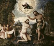 Paris Bordone - Baptism of Christ