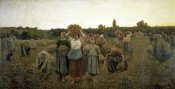 Jules Adolphe Breton - The Recall of the Gleaners