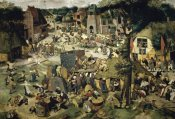 Pieter Bruegel the Elder - Village Celebration (I)