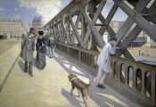 Gustave Caillebotte - The Bridge of Europe