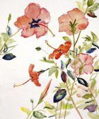 Sir Roy Calne - Hibiscus Flowerpiece
