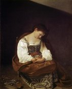Caravaggio - The Repentant Magdalene