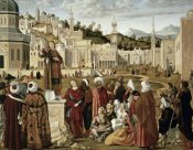 Vittore Carpaccio - St. Stephen Preaching at Jerusalem