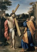 Agostino Carracci - Christ Appearing to Saint Peter