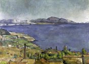 Paul Cezanne - The Gulf of Marseilles