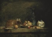 Jean-Baptiste-Siméon  Chardin - The Jar of Olives