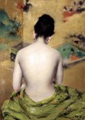 William Merritt Chase - Back of Nude