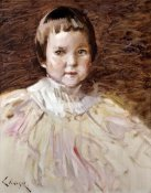 William Merritt Chase - Little Girl