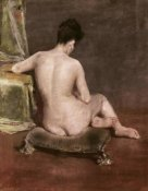 William Merritt Chase - Seated Nude
