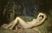 Theodore Chasseriau - Sleeping Nymph