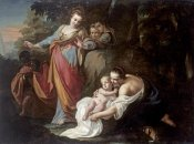 Gianbettino Cignaroli - The Finding of Moses