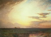 Samuel Colman - Twilight on the Western Plains