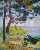 Henri-Edmond Cross - Afternoon at Pardigon