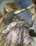Melozzo Da Forli - Music Making Angel With Tambourine