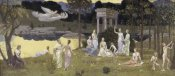 Pierre Puvis de Chavannes - The Sacred Forest Beloved by the Arts and Muses