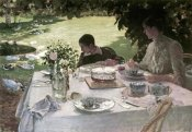 Giuseppe de Nittis - Lunch in the Garden