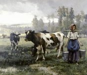 Julien Dupre - The Milkmaid
