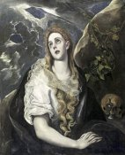 El Greco - St. Mary Magdalene In Penitence